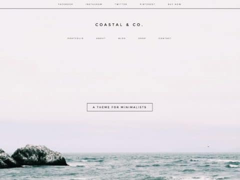 Coastal WordPress Theme