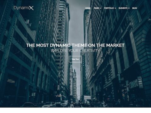 DynamiX WordPress Theme