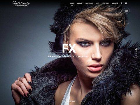 Fashionate WordPress Theme