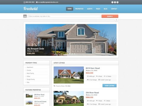 Freehold WordPress Theme