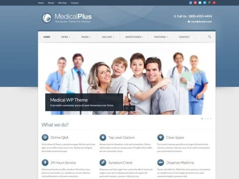 MedicalPlus WordPress Theme