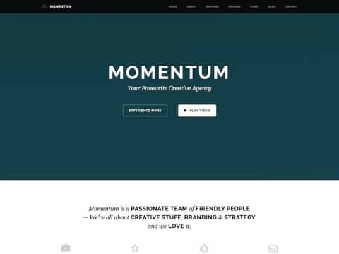 Momentum WordPress Theme