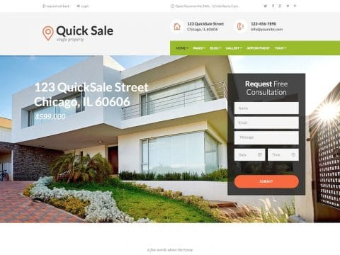 QuickSale WordPress Theme