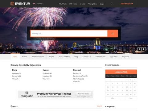 EVENTUM WordPress Theme