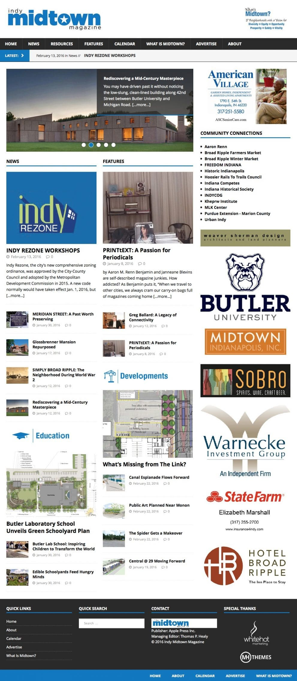 Indy Midtown Magazine