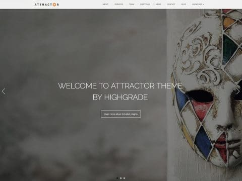 Attractor WordPress Theme
