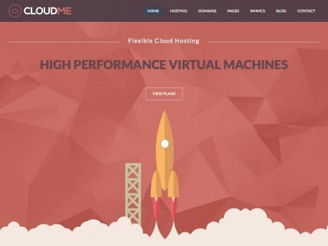 CloudMe WordPress Theme