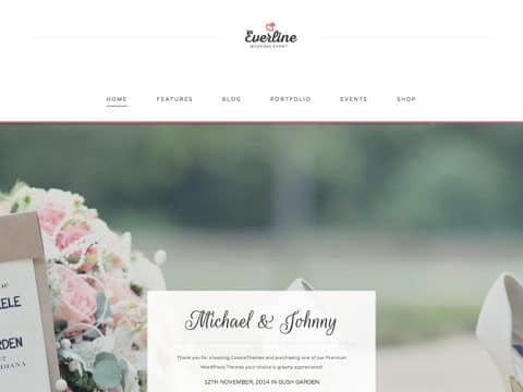 Everline WordPress Theme
