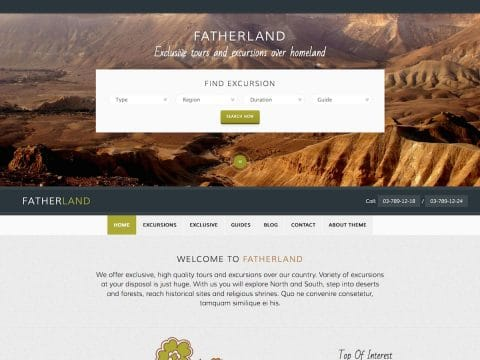 Fatherland WordPress Theme