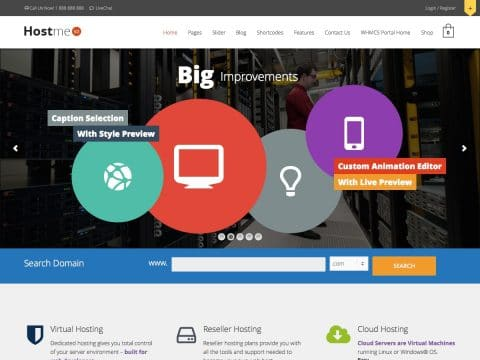 Hostme WordPress Theme
