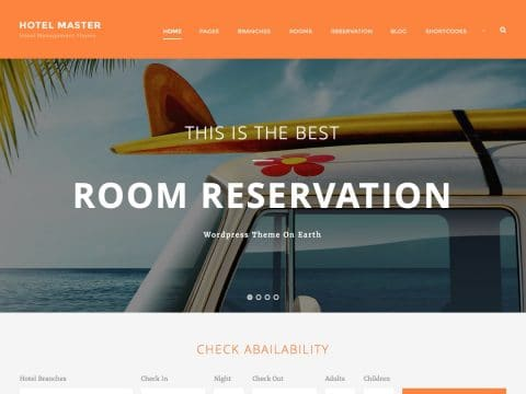 Hotel Master WordPress Theme