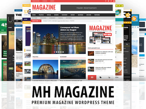 MH Magazine Layouts