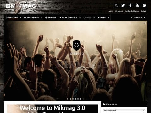 MikMag WordPress Theme