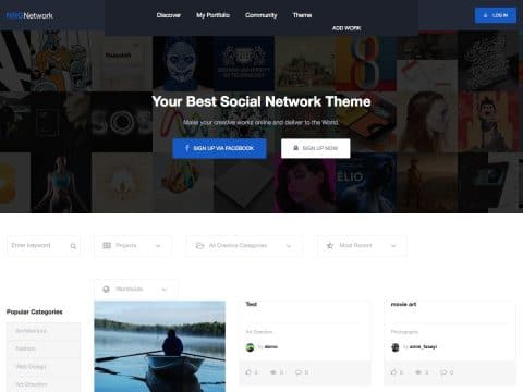 NRGNetwork WordPress Theme