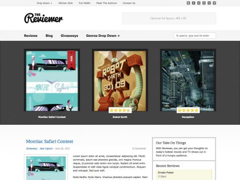 Reviewer WordPress Theme