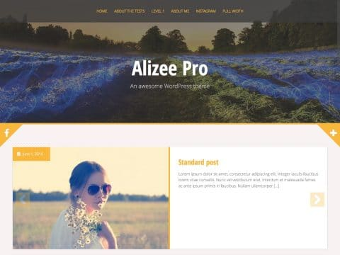 Alizee Pro WordPress Theme