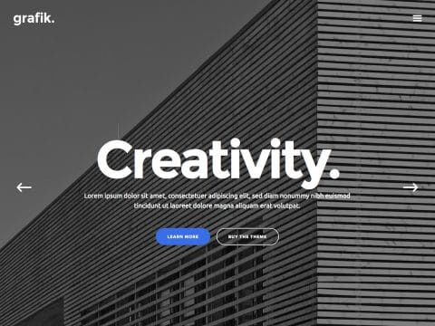 Grafik WordPress Theme