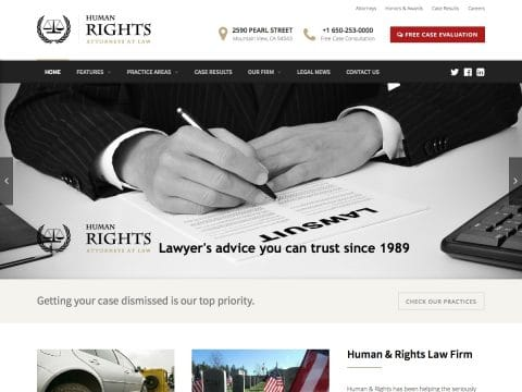 Human Rights WP Theme