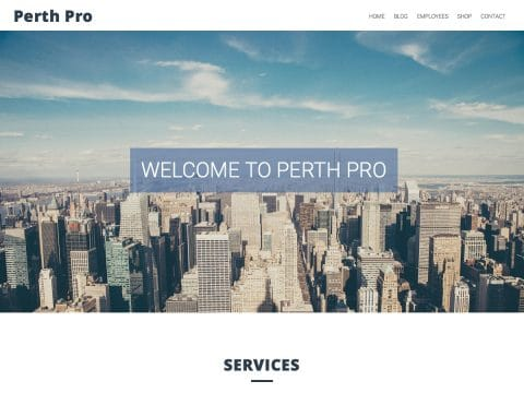 Perth Pro WordPress Theme