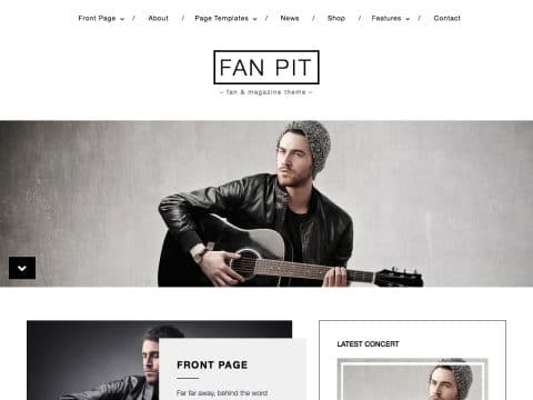 Fan Pit WordPress Theme