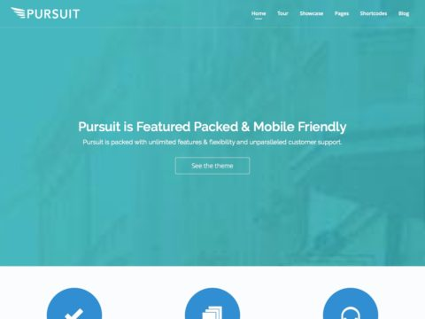 Pursuit WordPress Theme