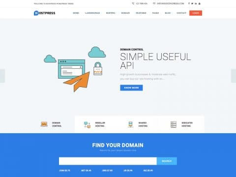 HostingPress WordPress Theme