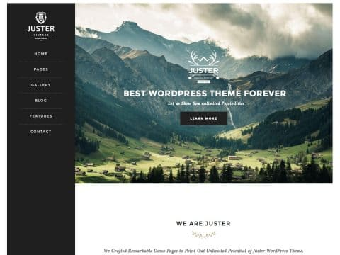 Juster Retro WordPress Theme
