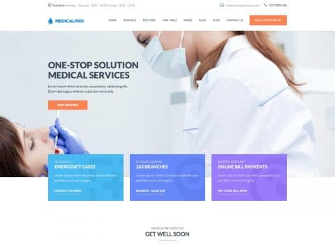 MedicalPro WordPress Theme