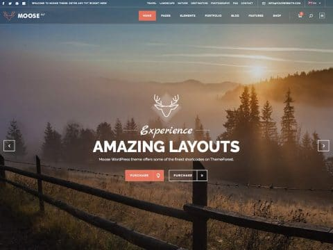 Moose Retro WordPress Theme