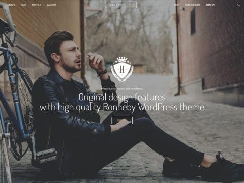 Ronneby Vintage WordPress Theme