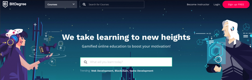 wordpress-online-learning-resources-bitdegree