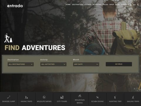Entrada WordPress Theme