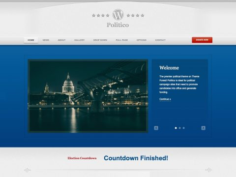 Politico WordPress Theme