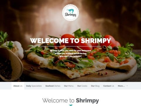 Shrimpy Restaurant Theme