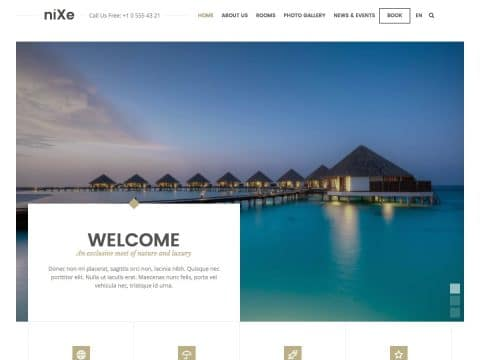 niXe WordPress Theme