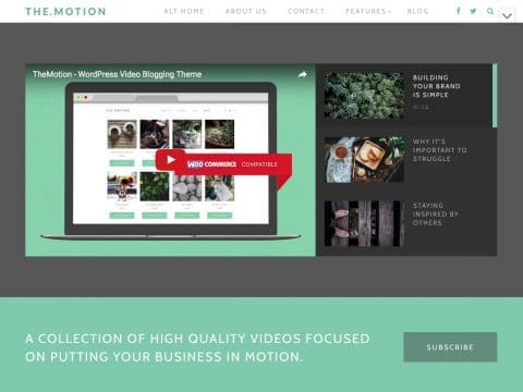 TheMotion WordPress Theme