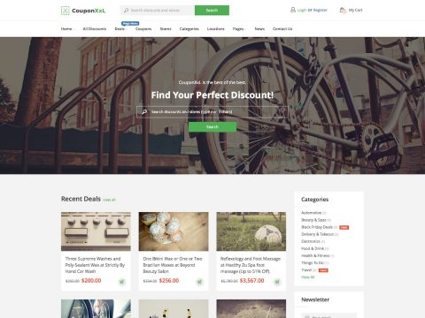 CouponXXL WordPress Theme