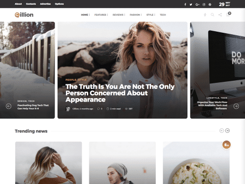 Gillion WordPress Theme