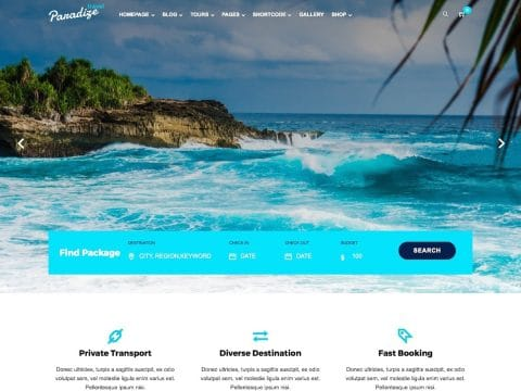 Paradize WordPress Theme