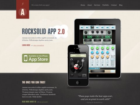 Rocksolid WordPress Theme