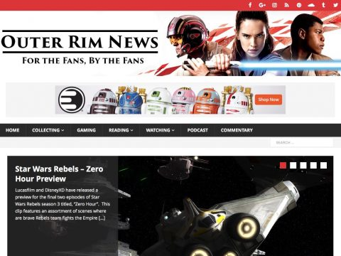 Outer Rim News Screenshot