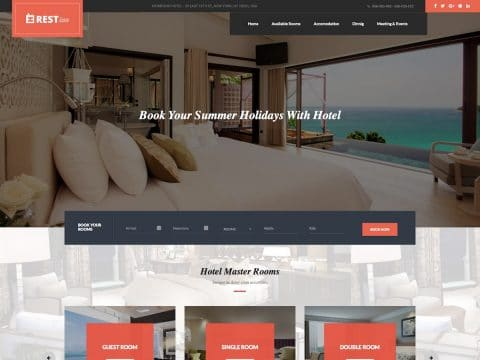 Restinn WordPress Theme
