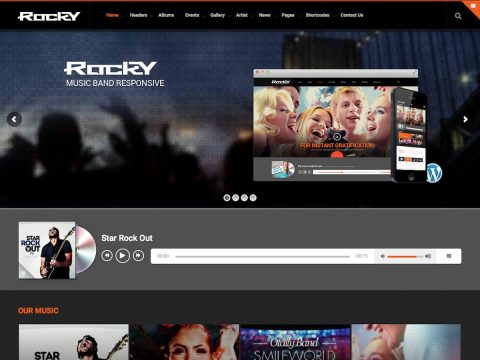 Rocky WordPress Theme