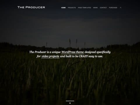 The Producer WordPress Theme