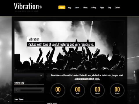 Vibration WordPress Theme