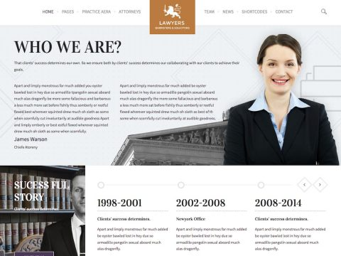 Law Practice WordPress Theme
