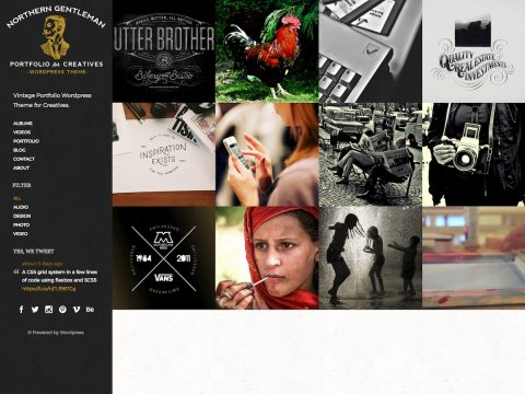 Northern Gentleman WordPress Theme