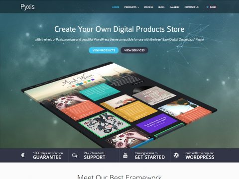 Pyxis WordPress Theme