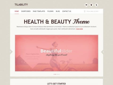Tilability WordPress Theme