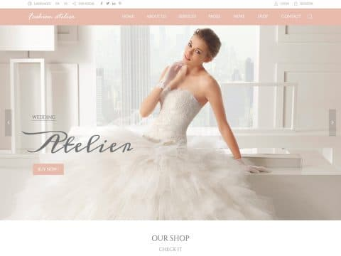 Wedding Industry WordPress Theme